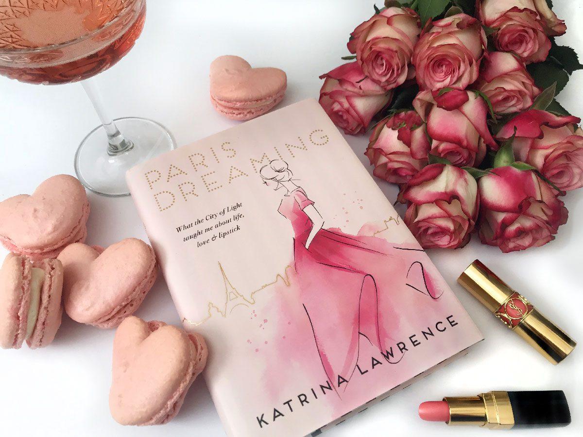 katrina lawrence the paris dreamer book cover flatlay