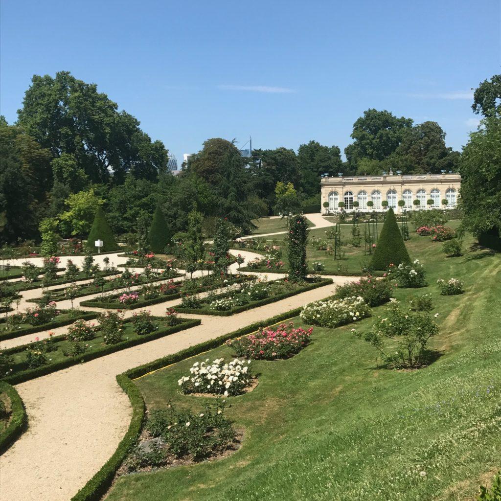 Bagatelle rose garden