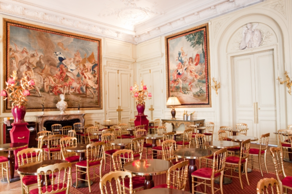 Musee Jacquemart Andre cafe