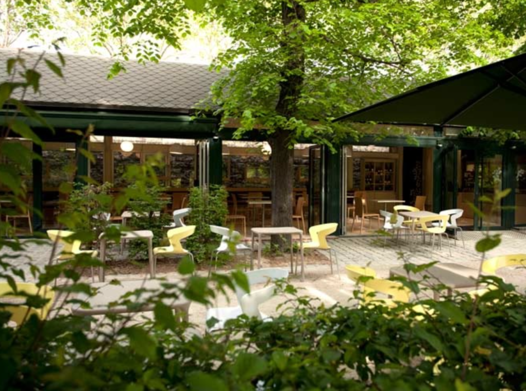 Musee Rodin cafe