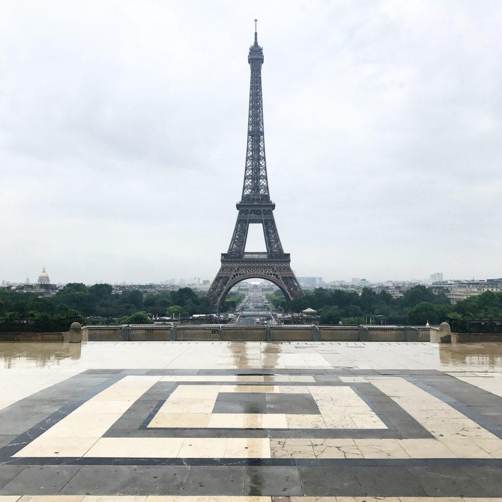 Place de Trocadero Eiffel Tower