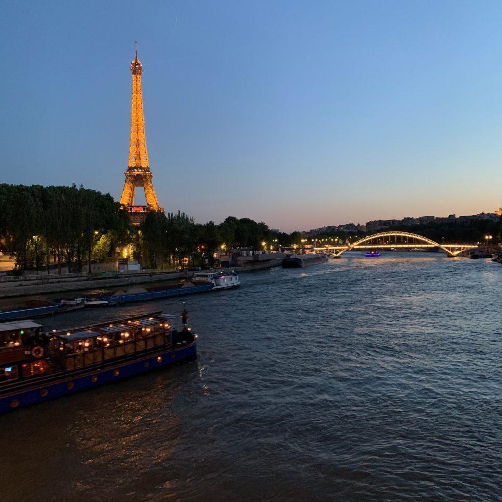 Pont de l'Alma Eiffel Tower