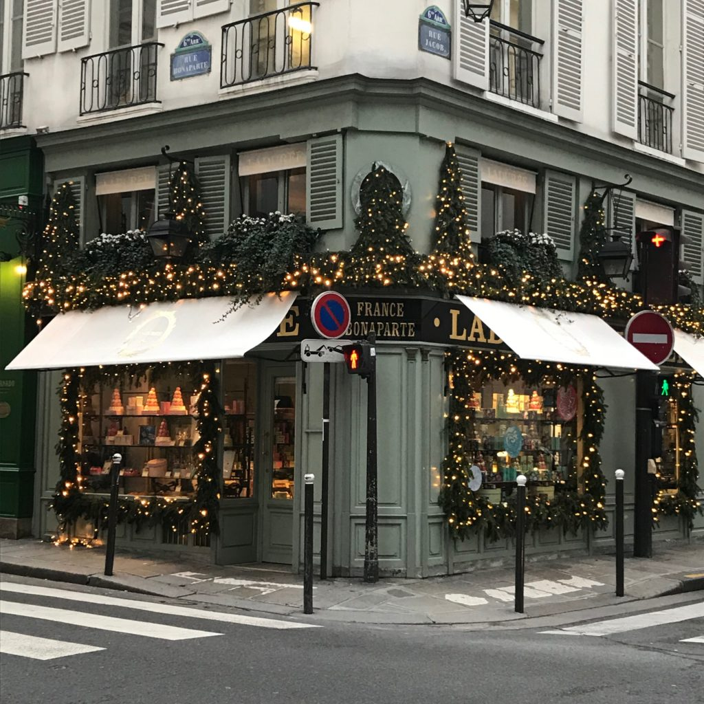 Paris Ladurée Christmas