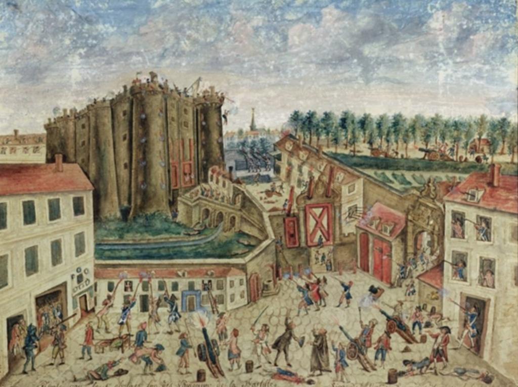 Siege of Bastille Claude Cholat