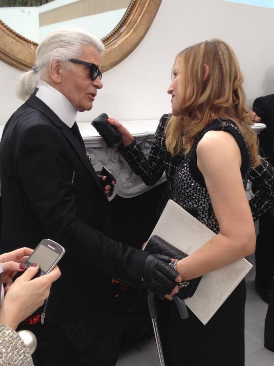 Karl Lagerfeld Amy Wechsler