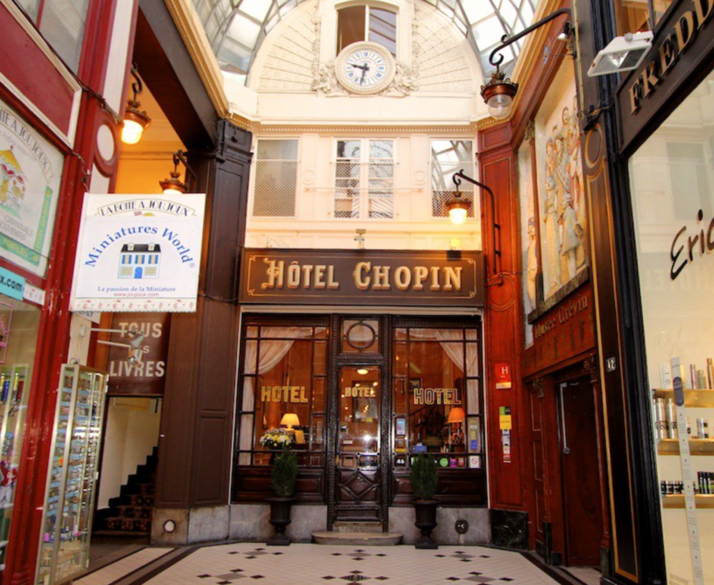 Hotel Chopin two star hotel Paris