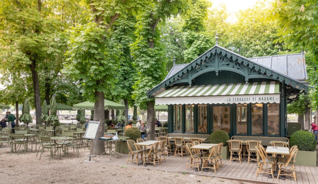 La Terrasse de Madame Luxembourg Garden