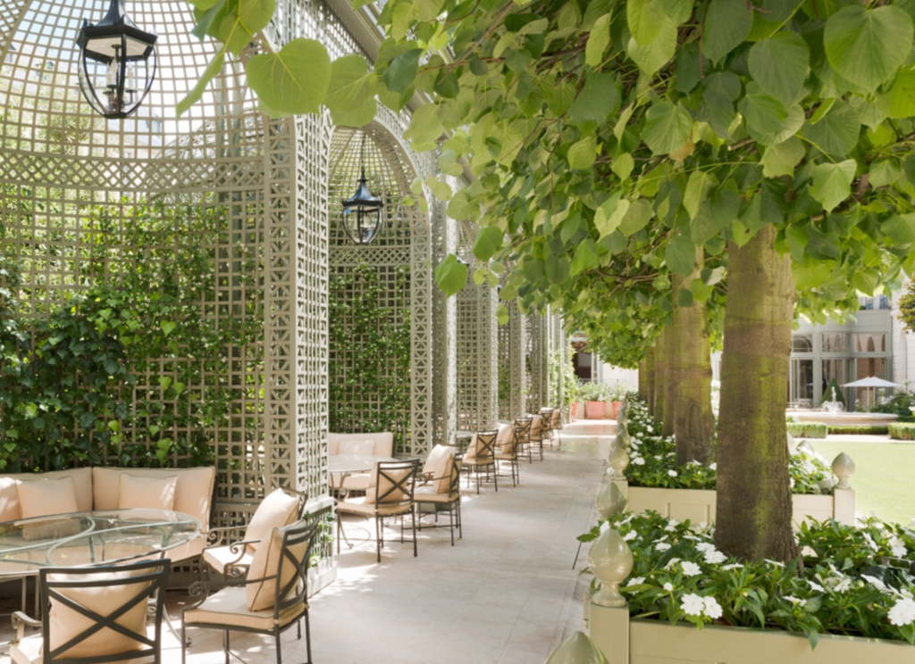 Ritz Paris Summer Garden Drinks