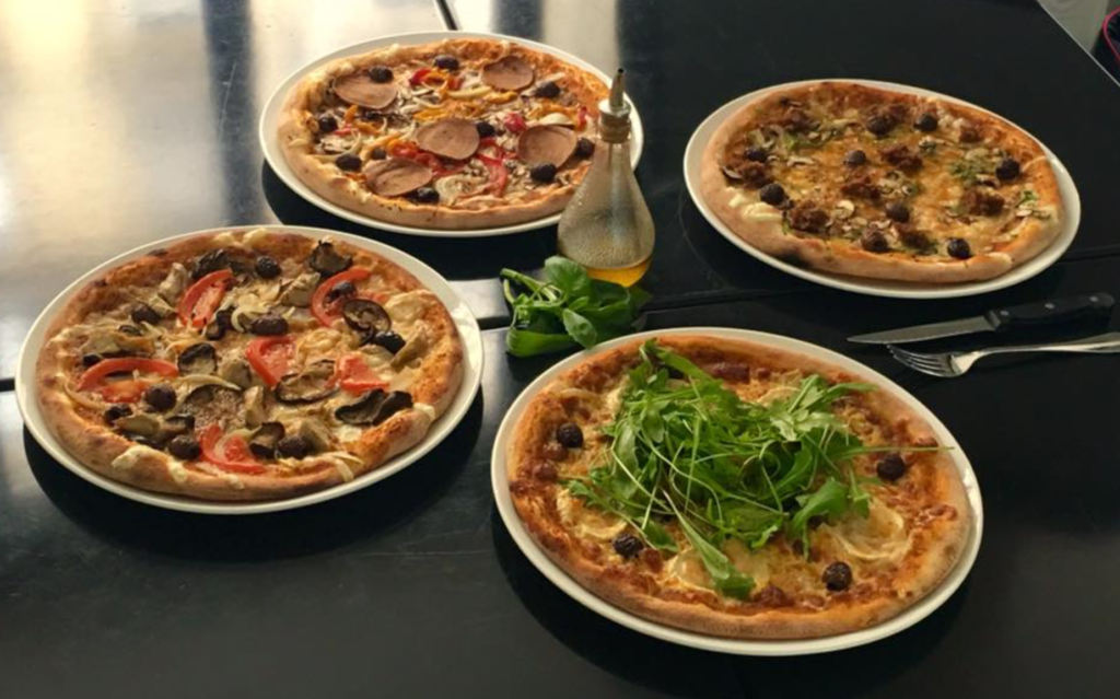 vegan pizza Paris