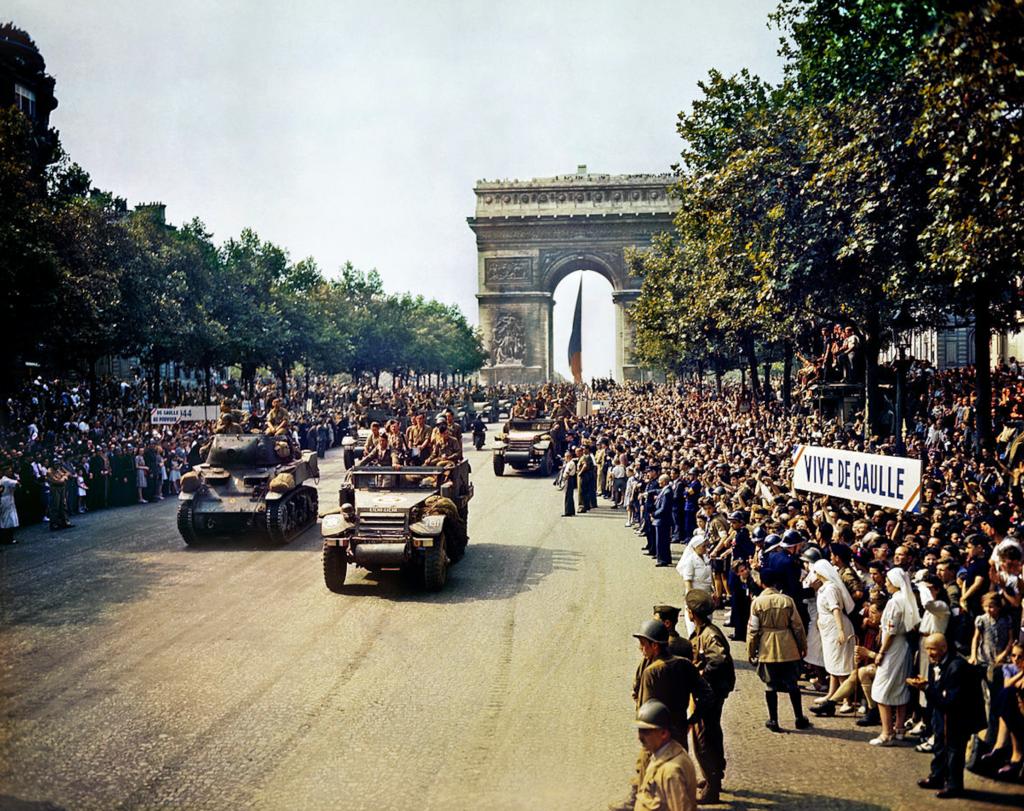26 August 1944 Paris