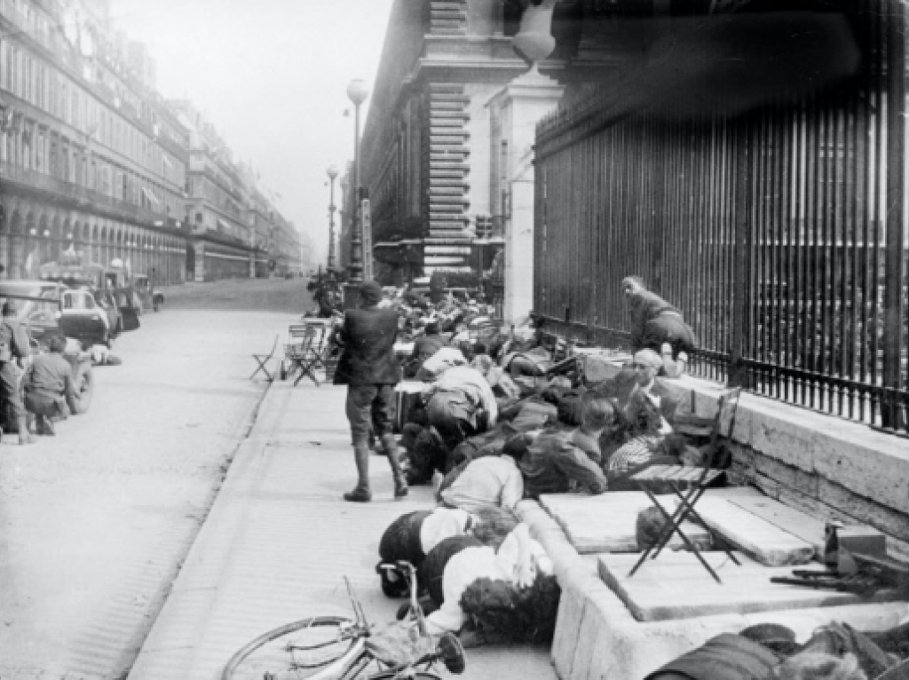 Rue de Rivoli 25 August 1944