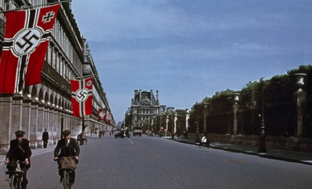 Rue de Rivoli German Occupation