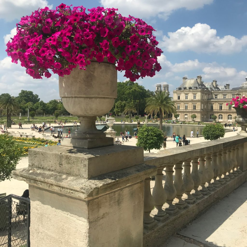 Day in the Luxembourg Gardens Paris