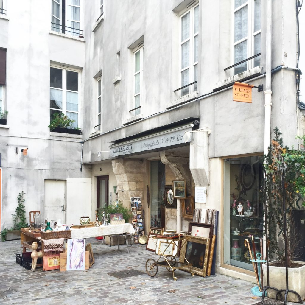 Village Saint-Paul Paris Seamstress