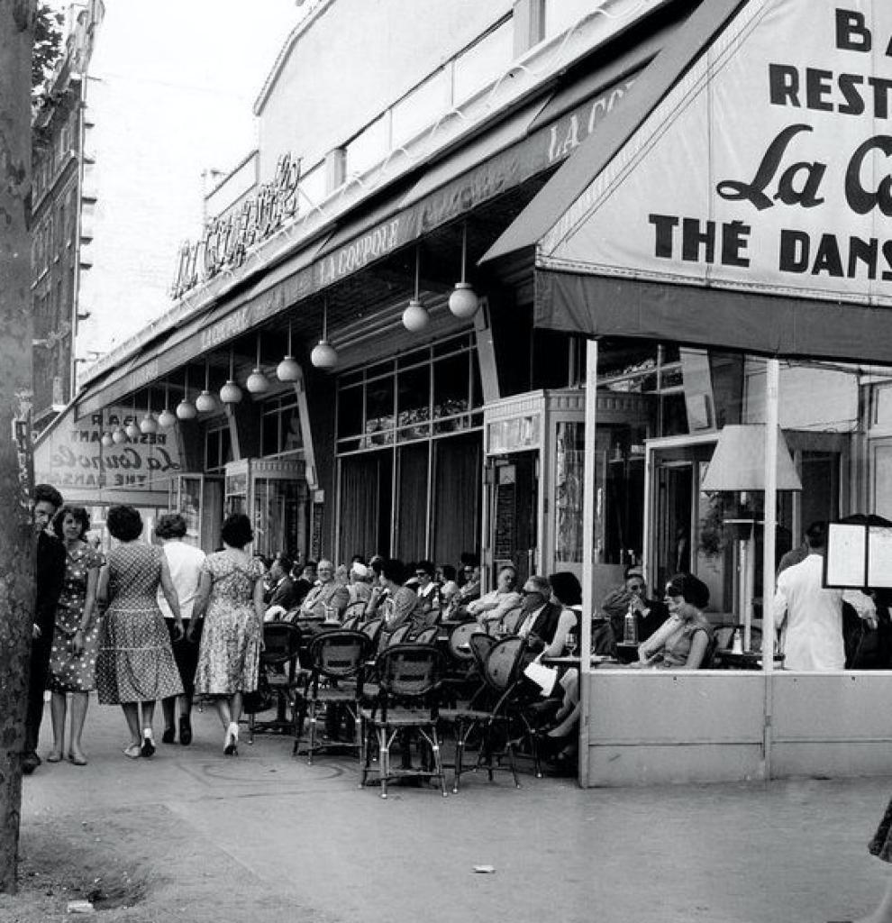 La Coupole 1950s