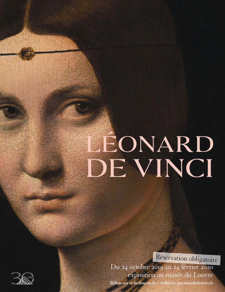 Louvre Leonardo de Vinci exhibition