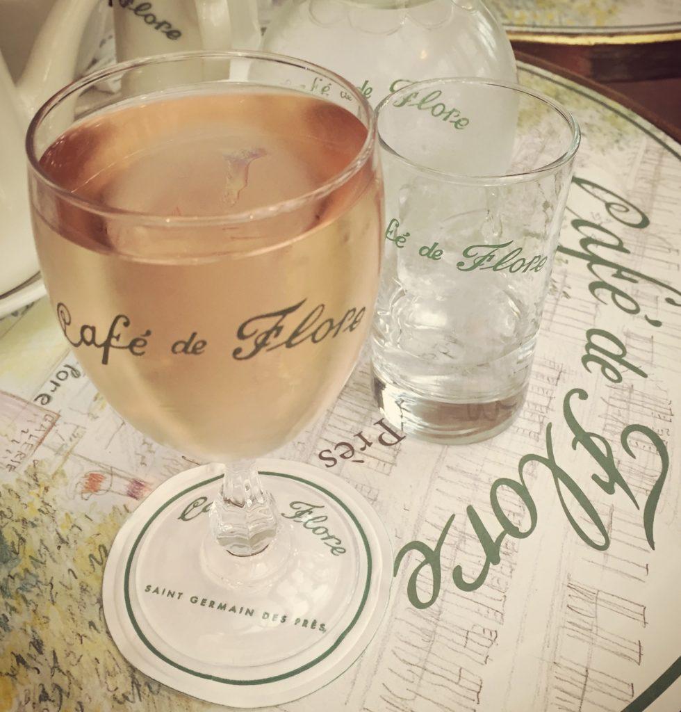 Café de Flore glass