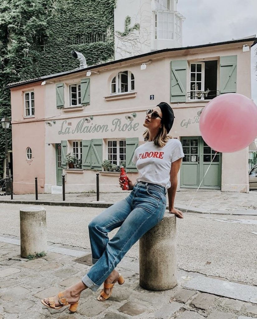 La Maison Rose Paris Instagram