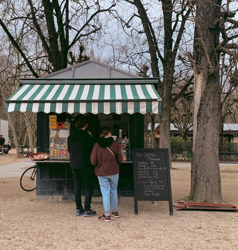 Jardin du Luxembourg crepes