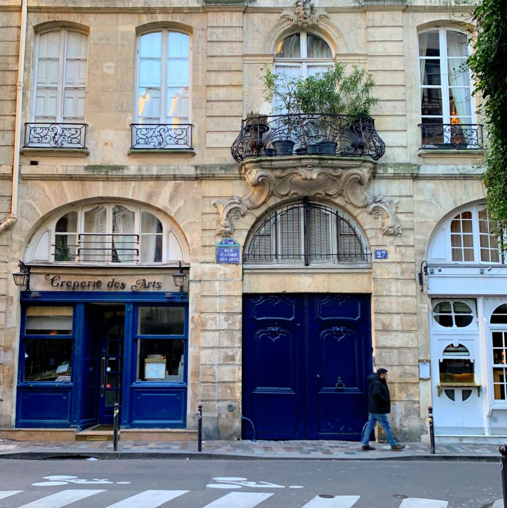 Rue Saint André des Arts crepes
