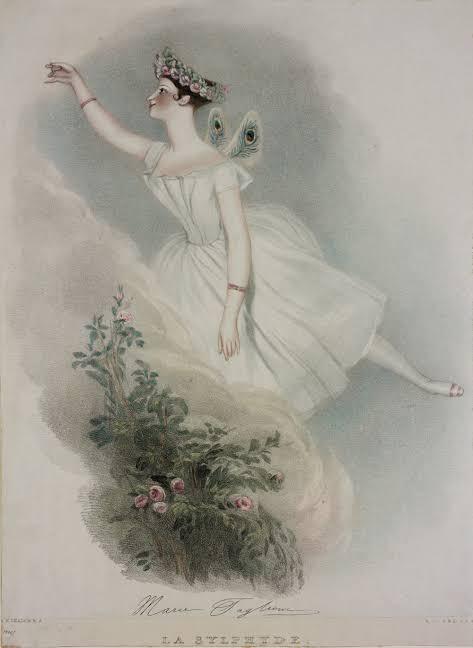 Marie Taglioni La Sylphide