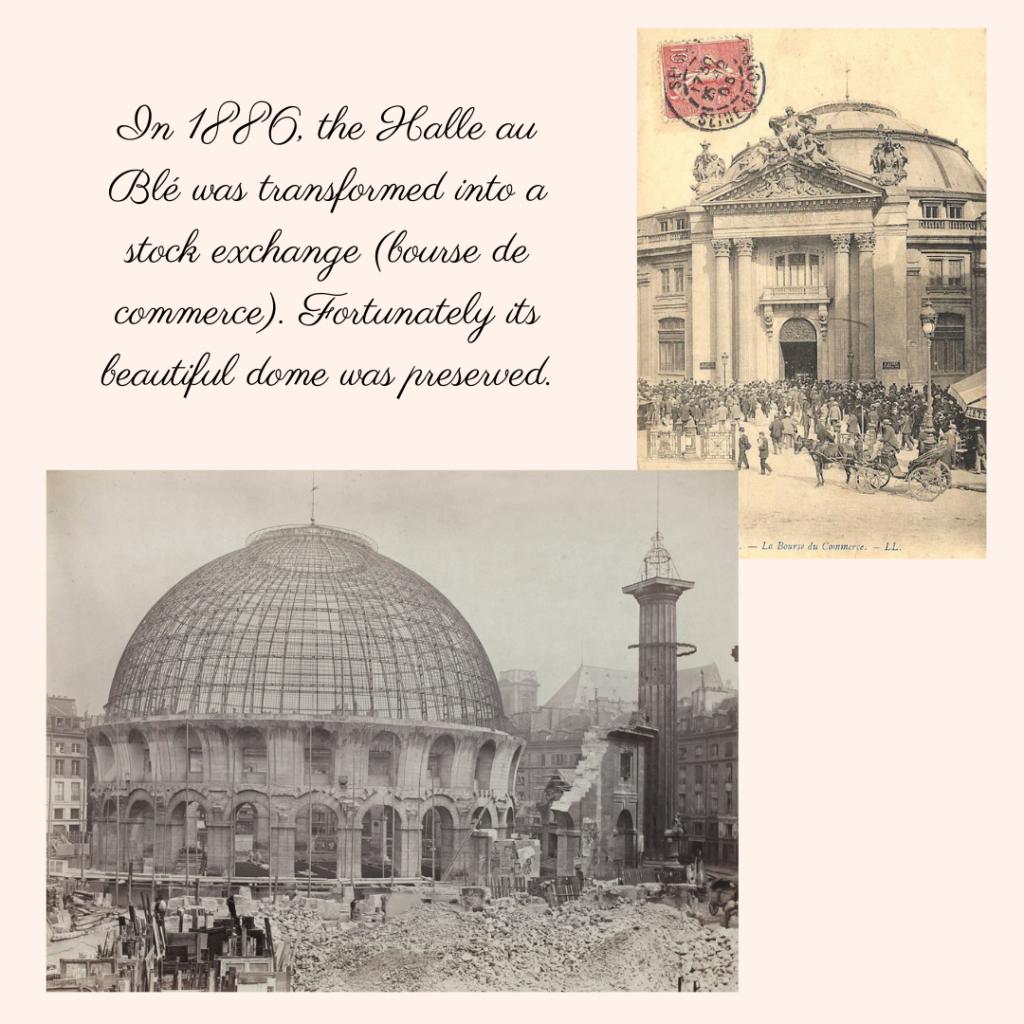 Bourse de Commerce Paris history