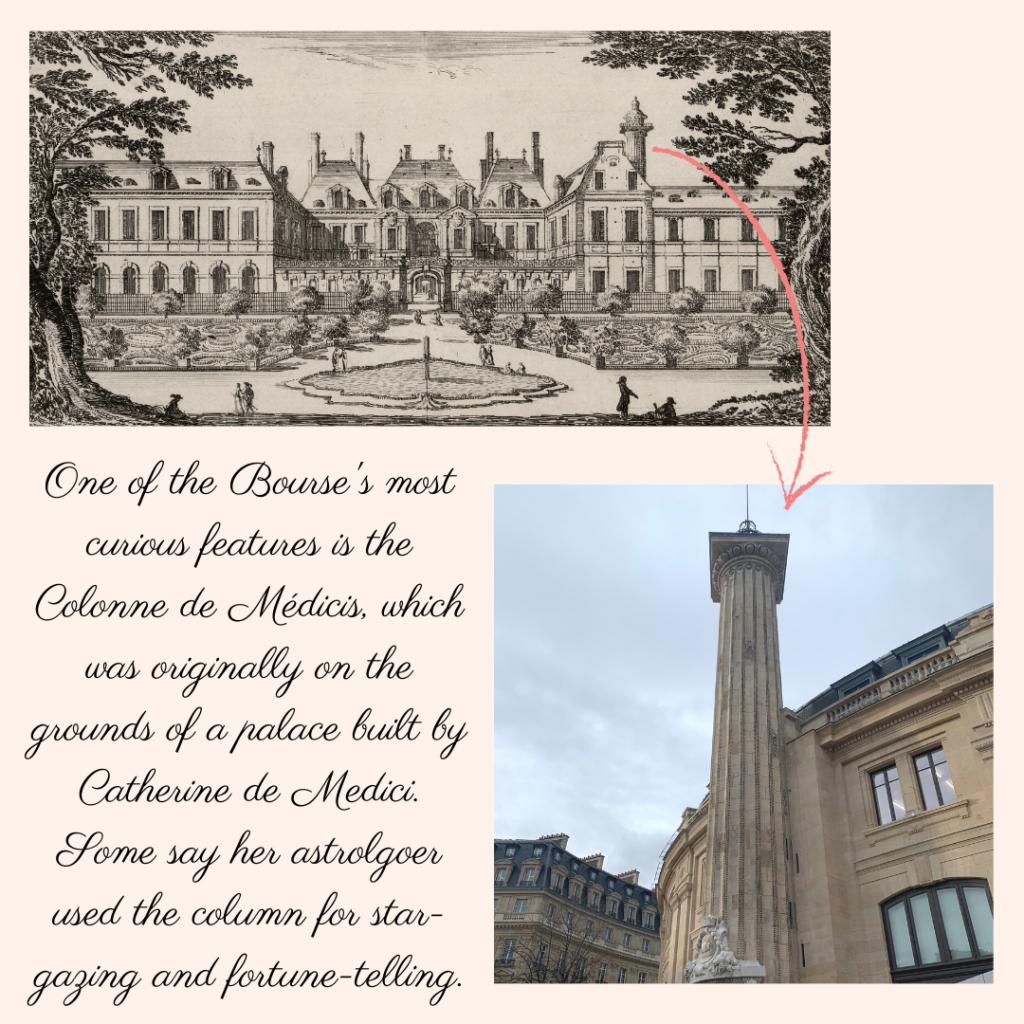 Bourse de Commerce Colonne de Medicis