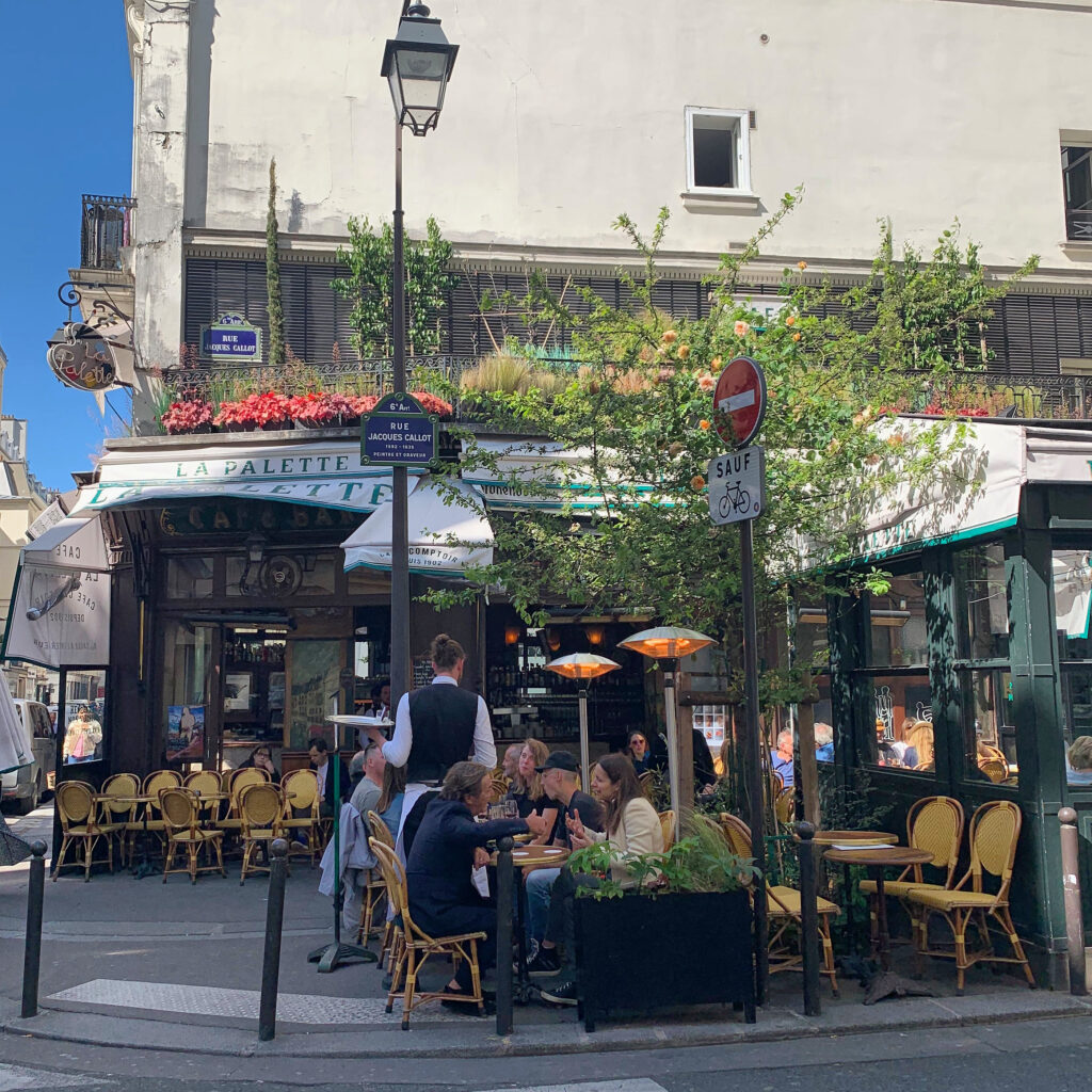 Paris terraces La Palette