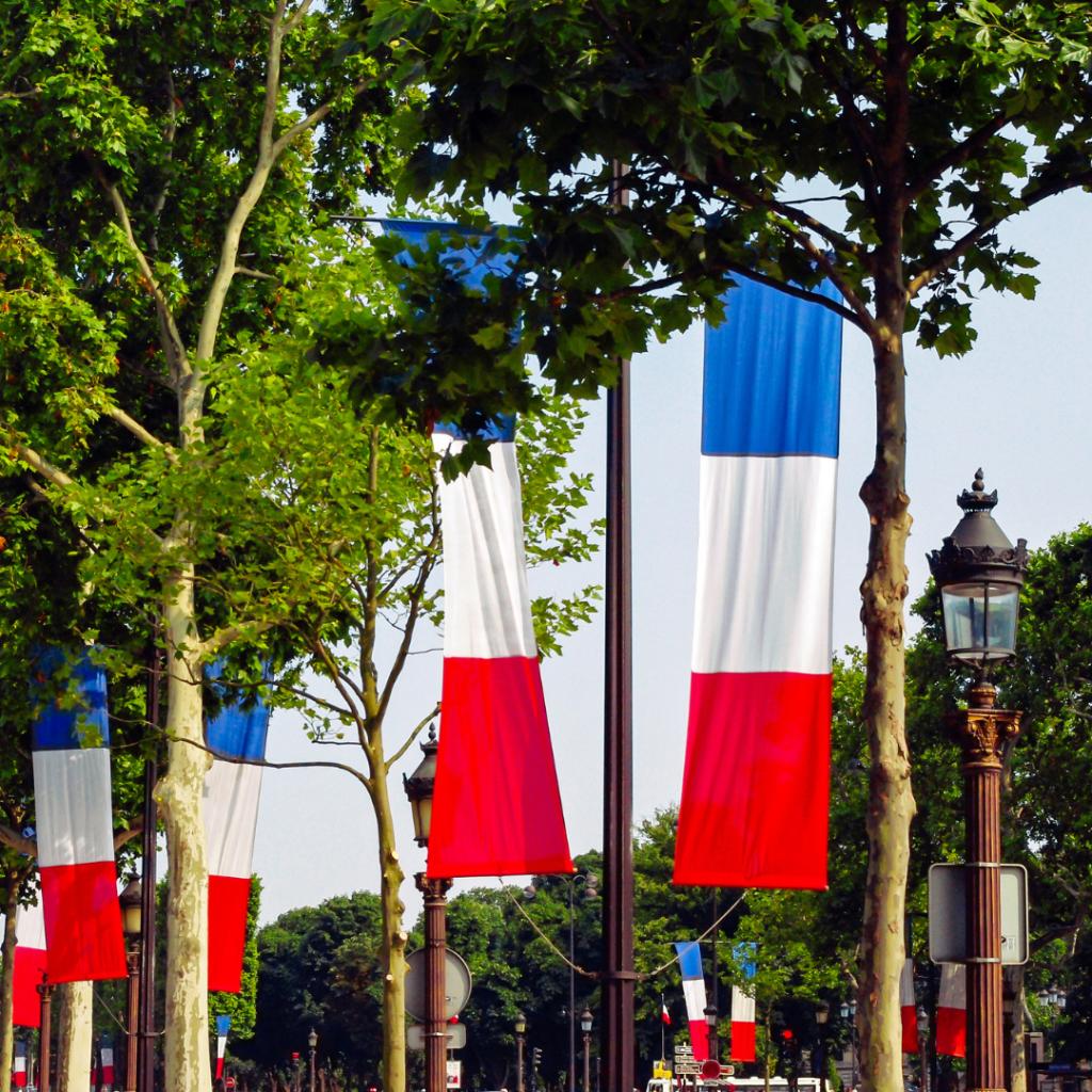 Paris flags