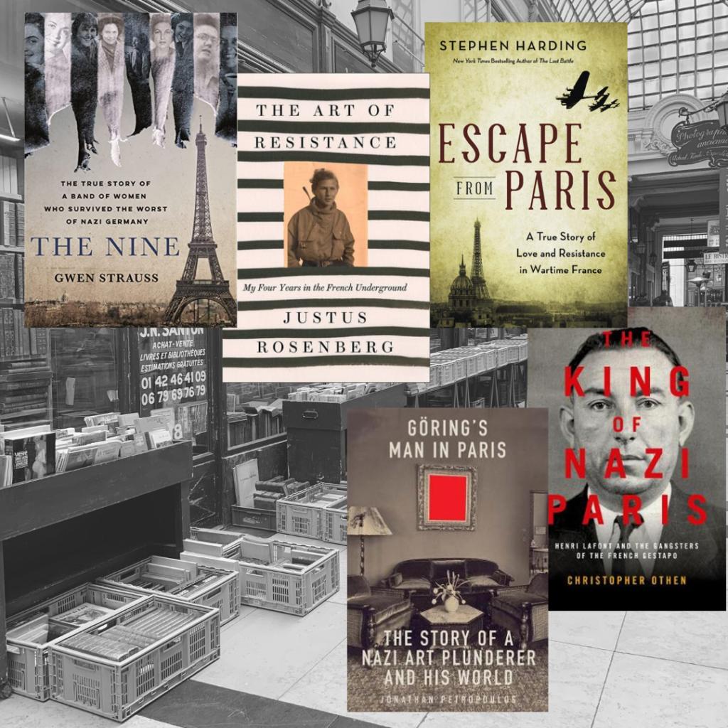 Paris World War II books