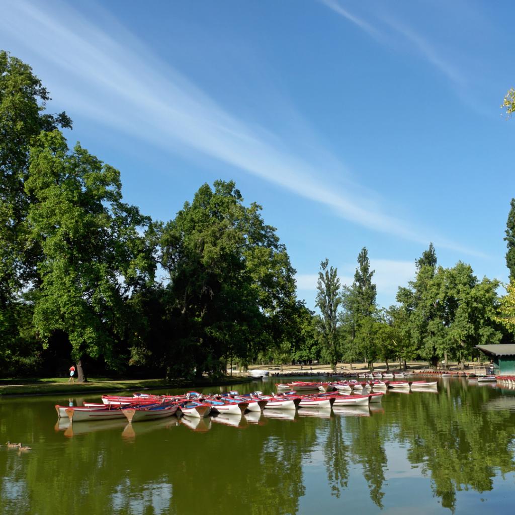 Bois de Boulogne rowboats