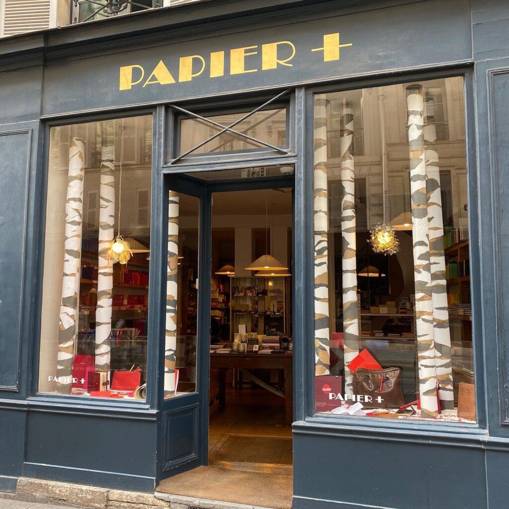 Paris stationery boutiques