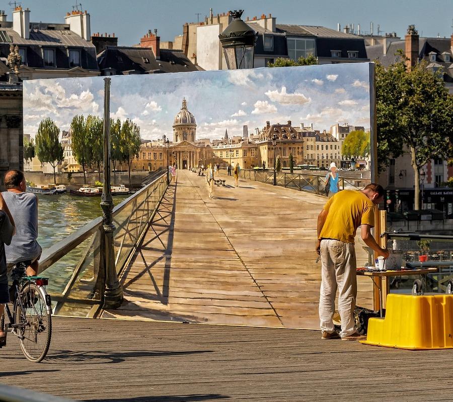 Artist-Pont-des-Arts