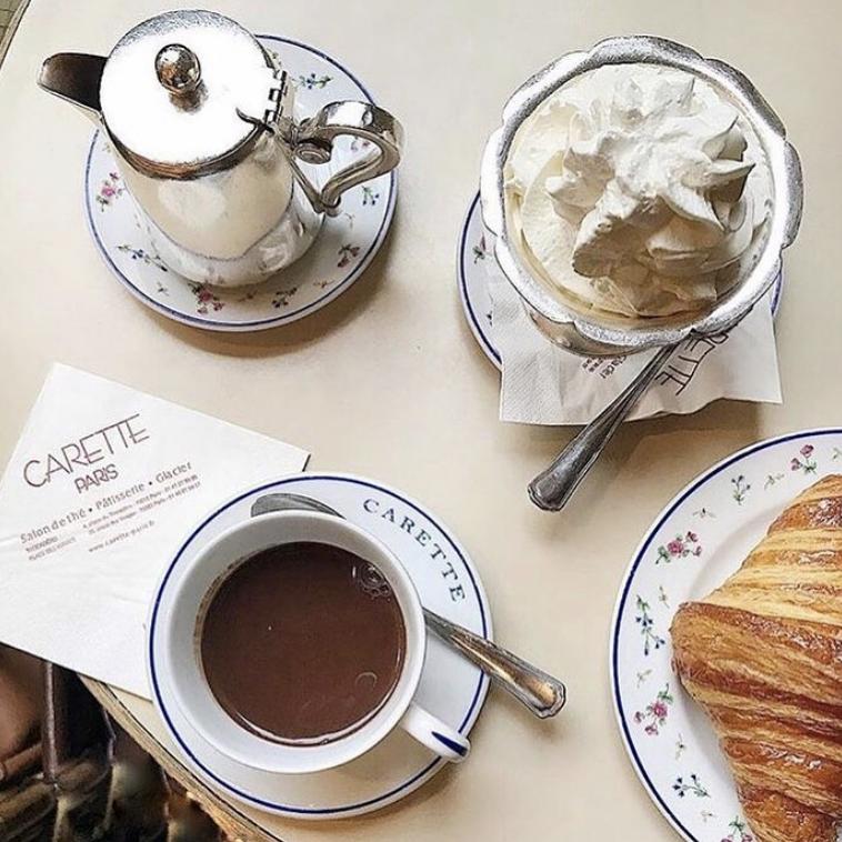 Carette hot chocolate