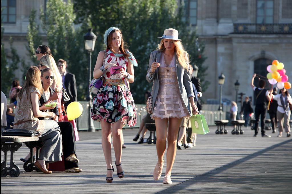 Pont des Arts Gossip Girl