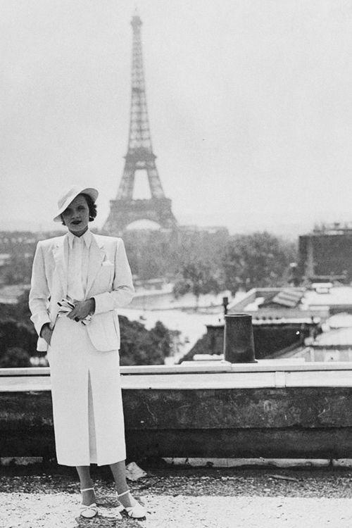 Marlene Dietrich Paris