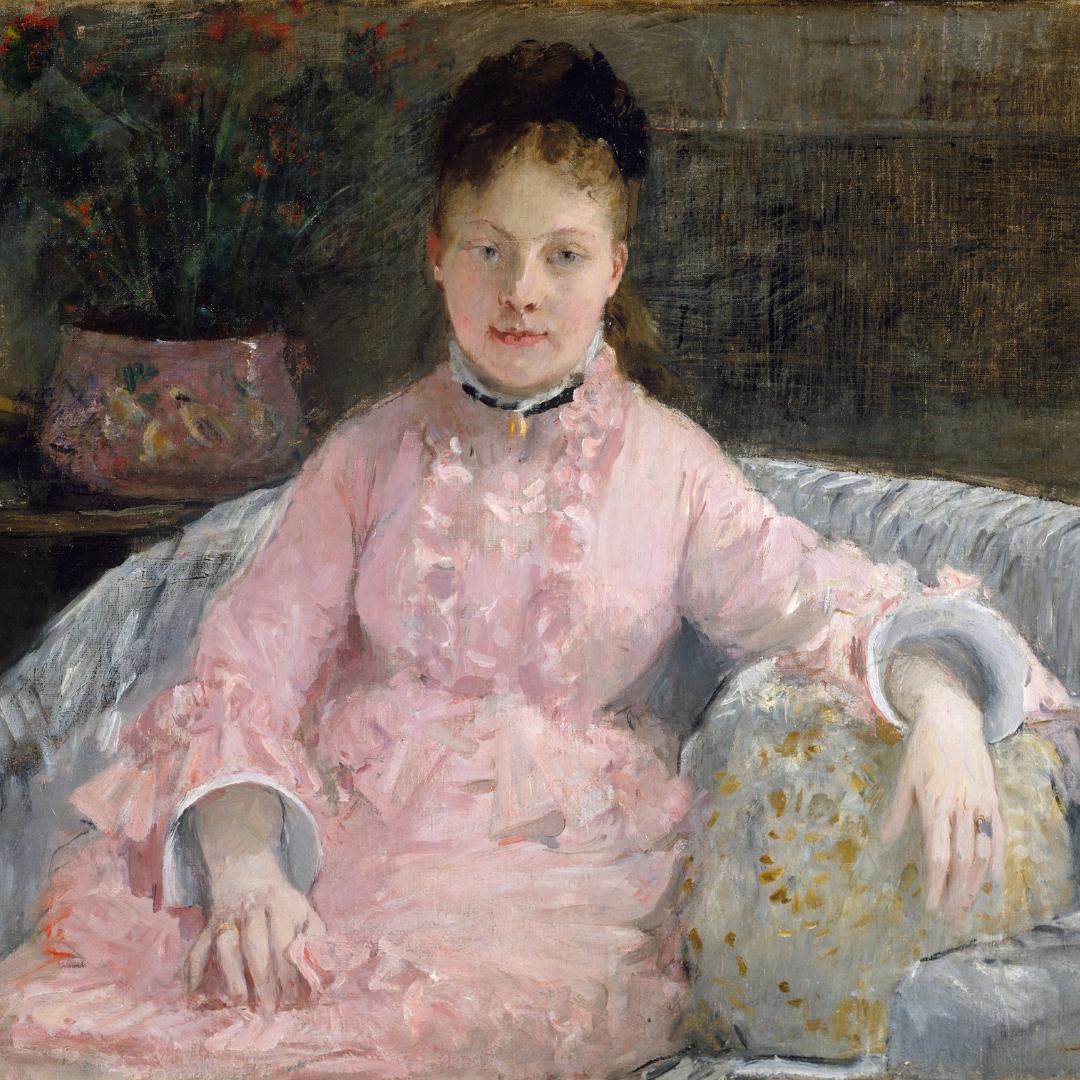 Berthe-Morisot-Pink-Dress